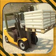 3D Forklift Simulator Parking Games 2018 icon